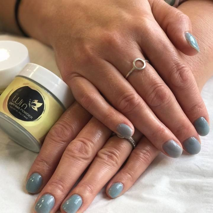 Dipping gel nail system