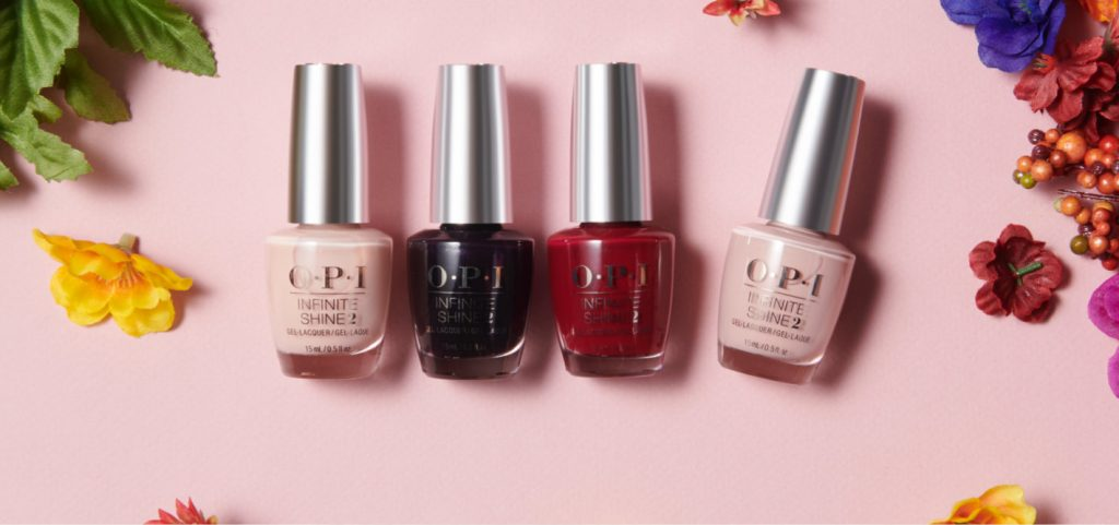 OPI nail colour collection
