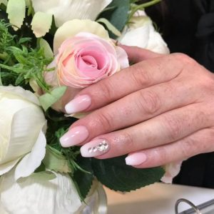 beautiful Nails with stones design 090219 7